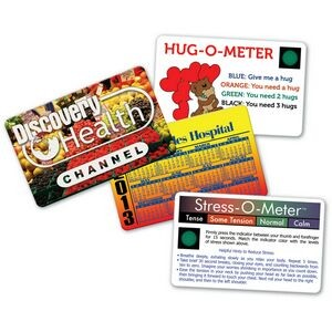 Stress-O-Meter™ Deluxe Mood Card w/VibraColor® Process