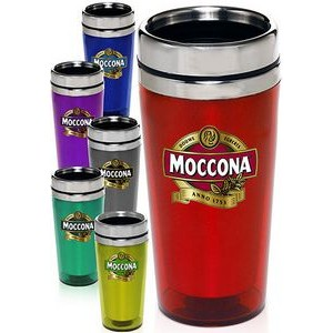 16 Oz. Double Wall Insulated Travel Tumbler