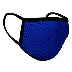 Blue Mesh Cooling Face Mask