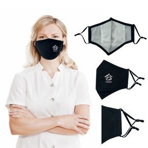 3 Ply Reusable Adjustable Cotton Face Mask